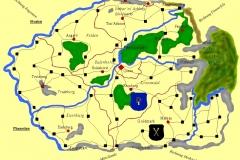 Karten von Lodrien